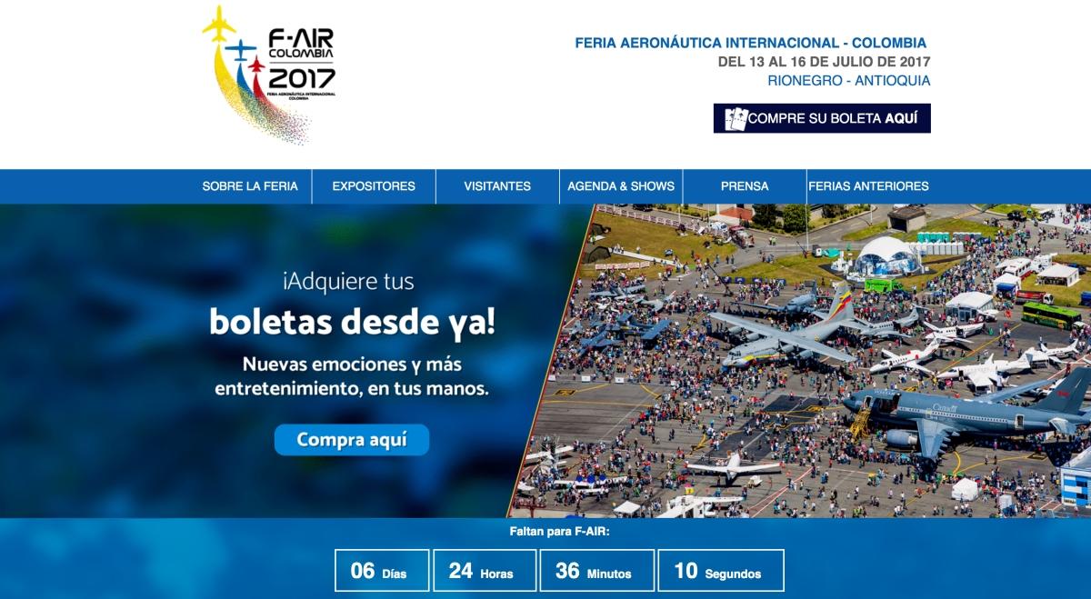 Feria F-Air 2017 Medellín