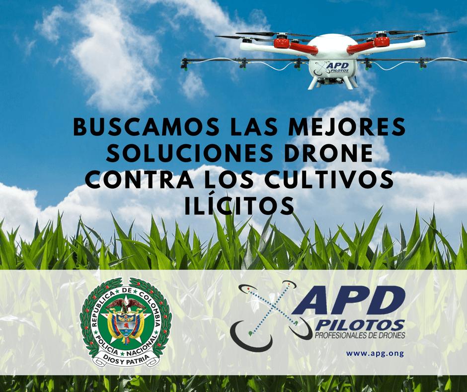 Drones Antinarcóticos